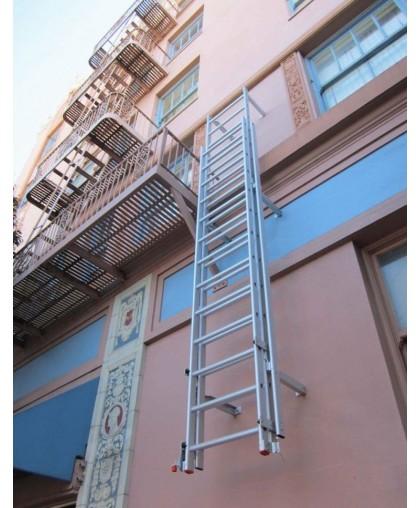 Металлическая лестница вертикального типа - 2